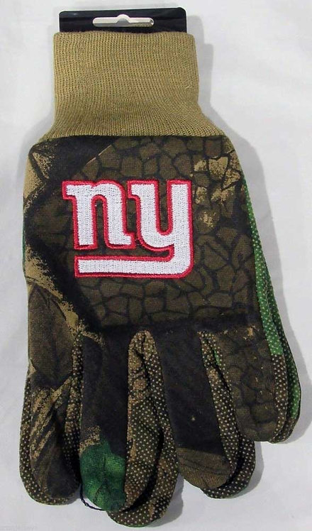 Giants Adult Gloves Camo