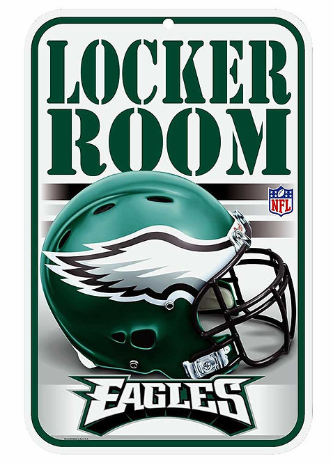 Eagles Locker Room Sign