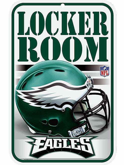 Eagles Locker Room Sign