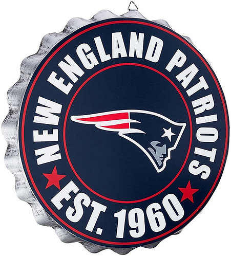 Patriots Bottle Cap Sign ~ Year Established