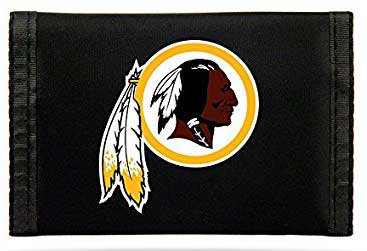 Redskins Tri-Fold Nylon Wallet