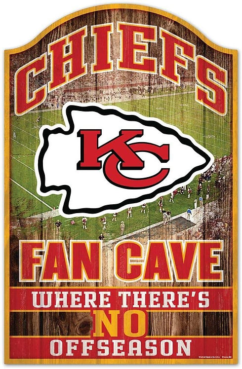 "Chiefs ""No Offseason"" Fancave Sign"