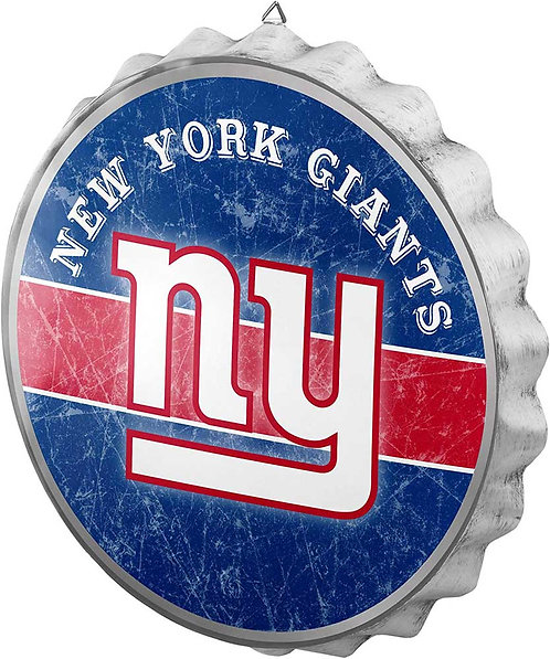 Giants Bottle Cap Sign