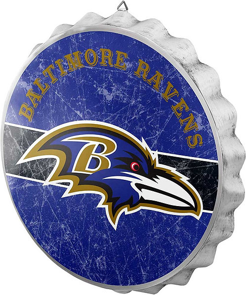 Ravens Bottle Cap Sign