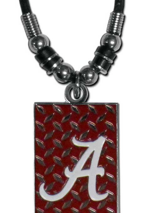 Alabama Gridiron Necklace