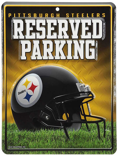 "Steelers ""Reserved Parking"" Sign"