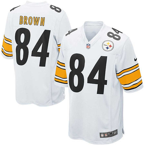 Steelers Brown Jersey White