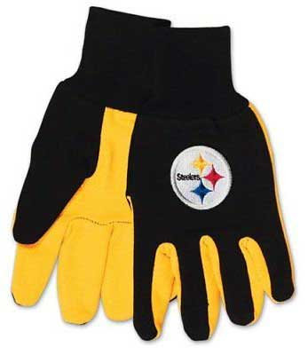 Steelers Adult 2-Tone Gloves