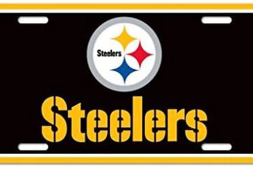 Steelers Logo License Plate