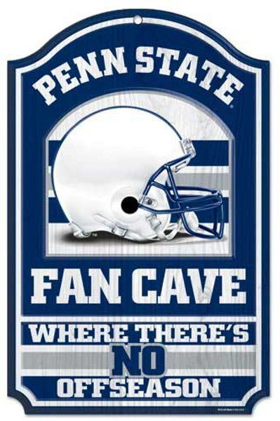 """Penn State """"Fan Cave"""" Sign"""