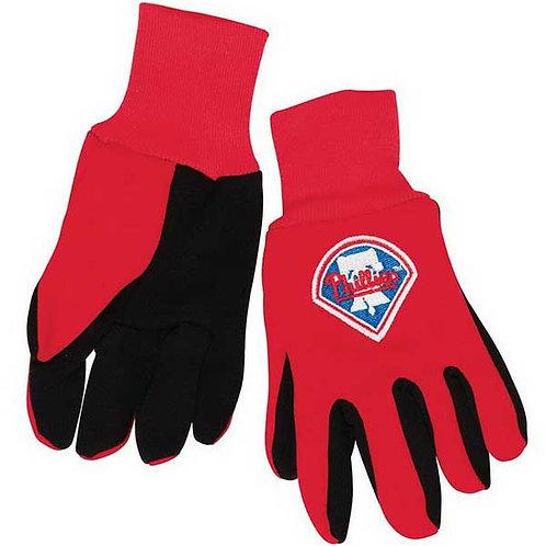 Phillies Kids 2-Tone Gloves