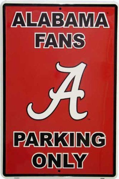 Alabama Parking Sign