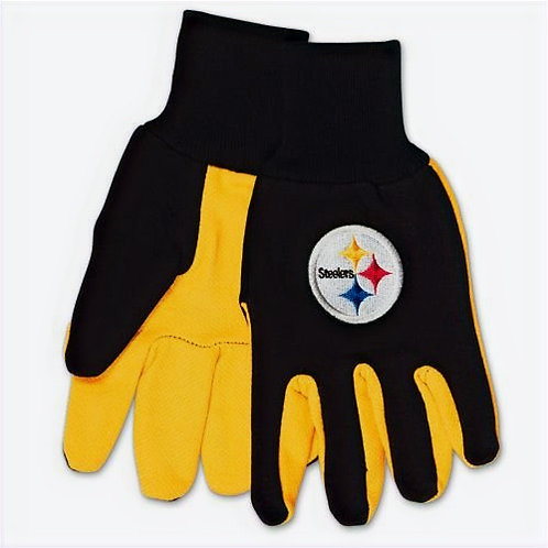 Steelers Adult 2-Tone Gloves