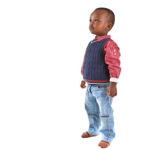 kid at pediatrician