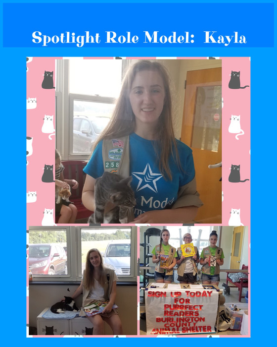 Role Model Spotlight:  Kayla