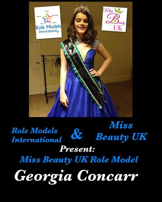 Miss Beauty UK Role Model