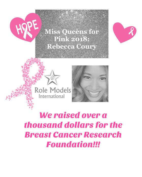 Miss Queens for Pink:  Rebecca Coury