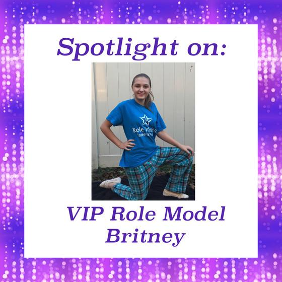 Spotlight on VIP Role Model Britney