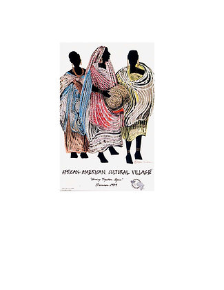 African American Cultural Village Poster