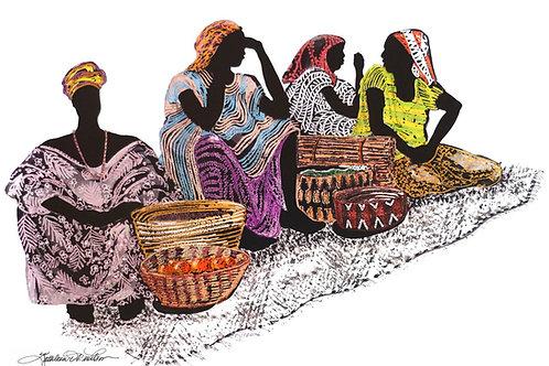Four Women Waiting