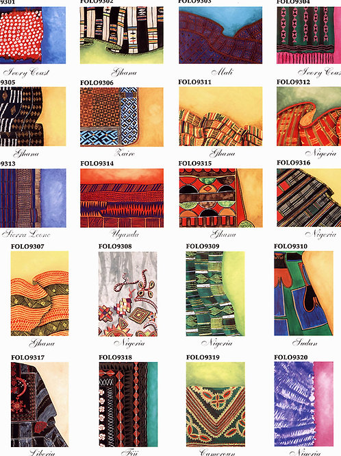Fabric of Life Notecard Collection