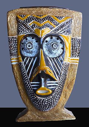 Kuba Mask Vase