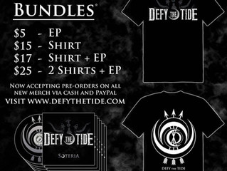 DEFY THE TIDE: Preorders Now Available!