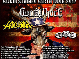 The Blood Stained Earth Tour w/ The Convalescence, Venom Inc, Goatwhore and Toxic Holocaust