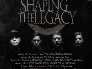 SHAPING THE LEGACY Announce The Programmed Life Tour