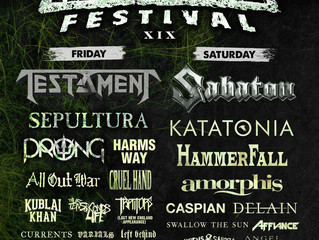 THE CONVALESCENCE to Perform at New England Metal & Hardcore Festival, April 21st