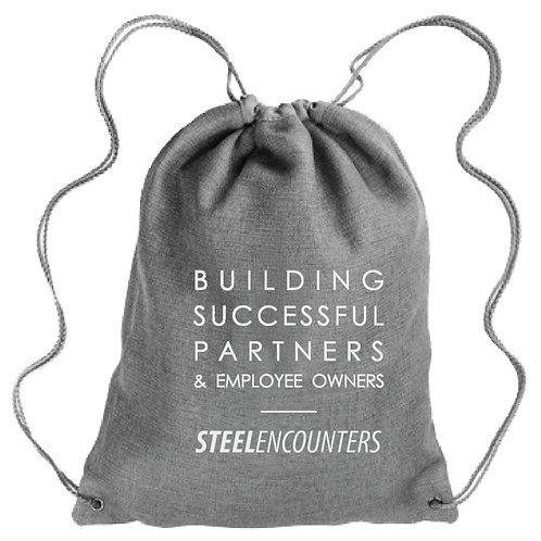 Vision Statement Linen Backpack