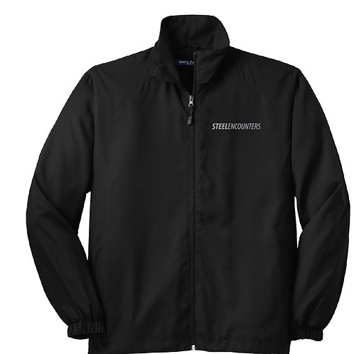 Men's Sport-Tek® Full-Zip Wind Jacket