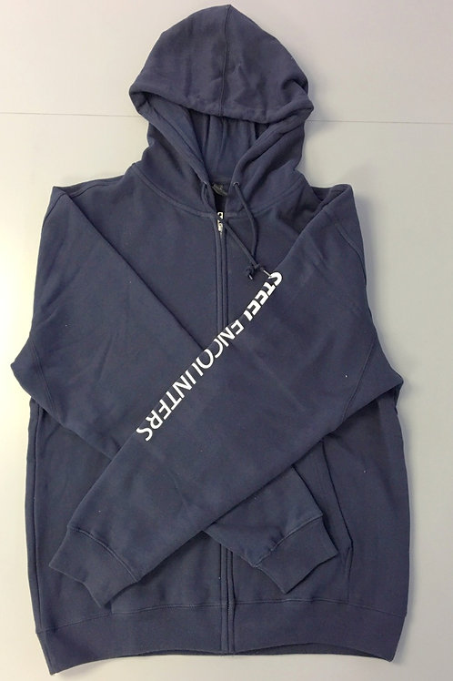 Steel Encounters Zip-Up Hoodie