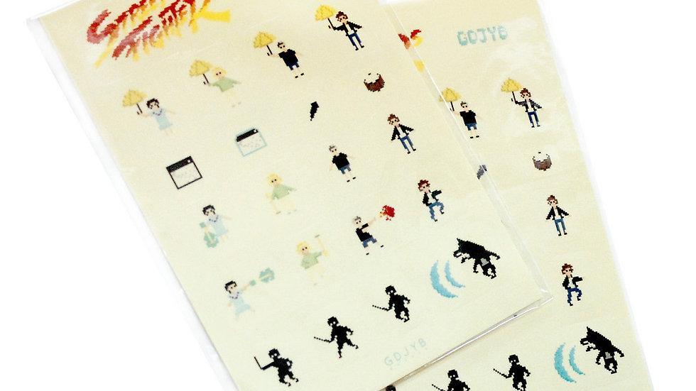 GDJYB | Street Fighter Stickers