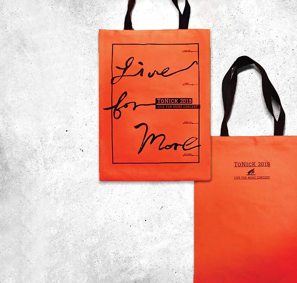 ToNick | <Live For More 2019> TOTE BAG