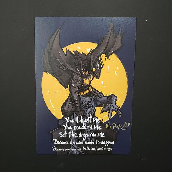 Mr.PooP | BATMAN  - Artprint