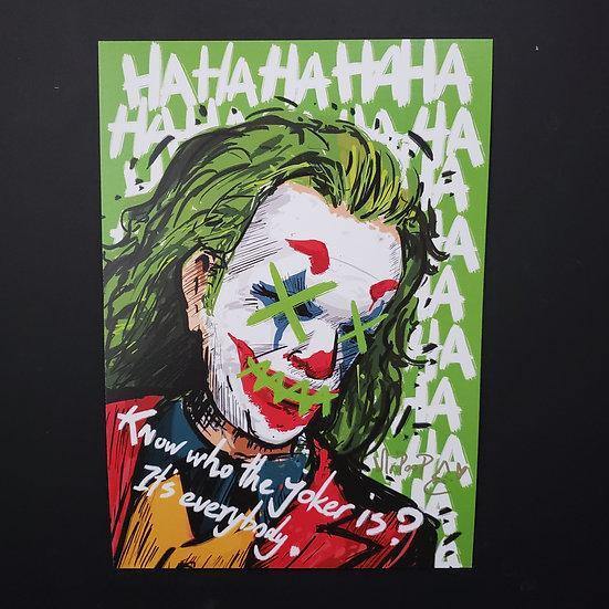 Mr.PooP   JOKER 1 - Artprint