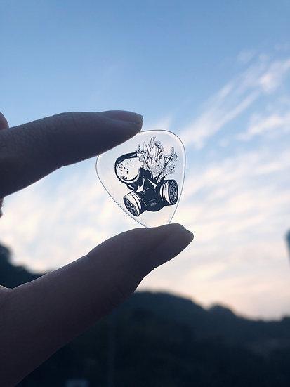 Stayawayfromblackhole | born to be free / 抗爭義賣款 Guitar Pick (no.01)