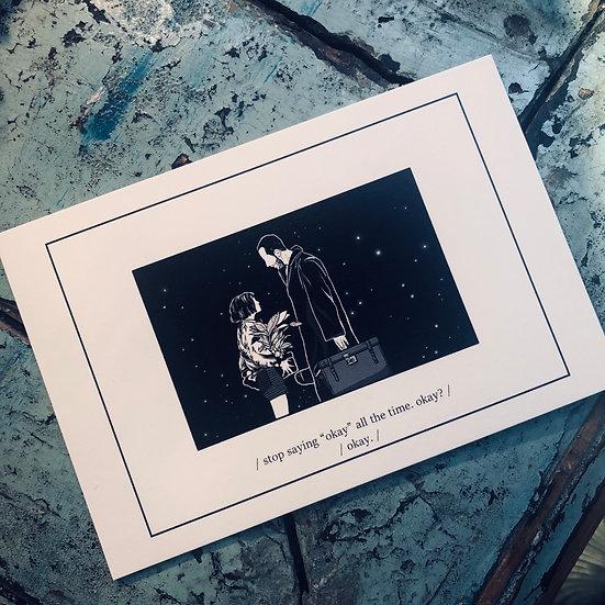 Stayawayfromblackhole | 電影/戲劇系列 Postcard (11款入)
