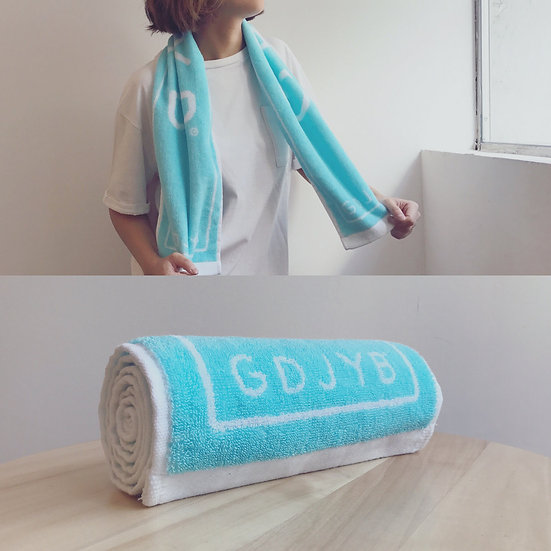 GDJYB | Logo毛巾