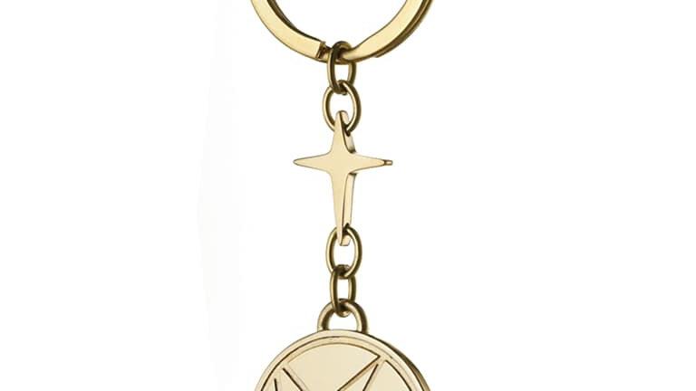 KOLOR | 十字星鎖匙牌