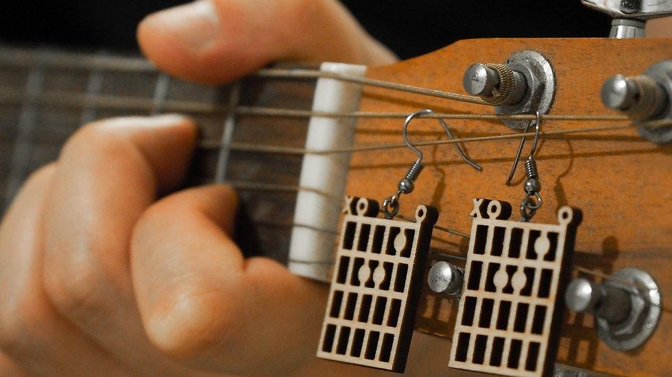 A.C.E Production | 木製耳環 – 和弦系列