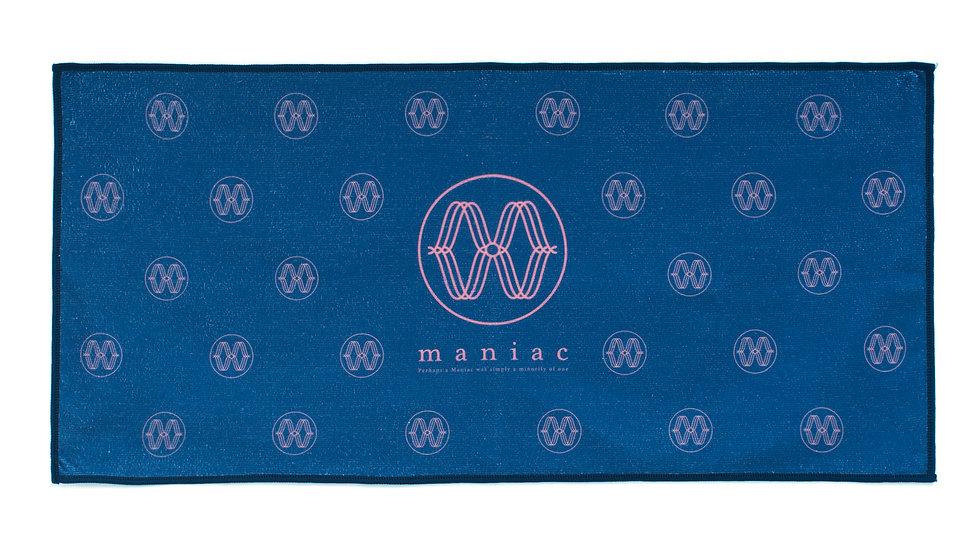 Maniac   Logo Towel
