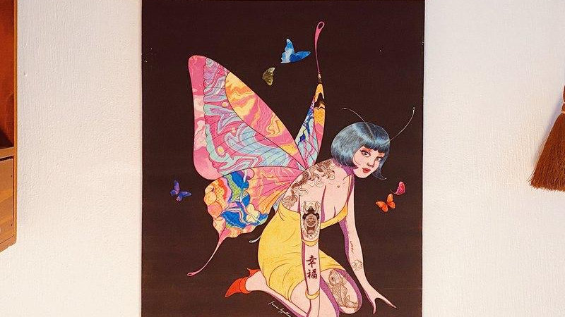 """Isaac Spellman巫男 