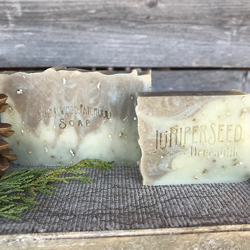 Sandalwood Patchouli Soap Half-Bar