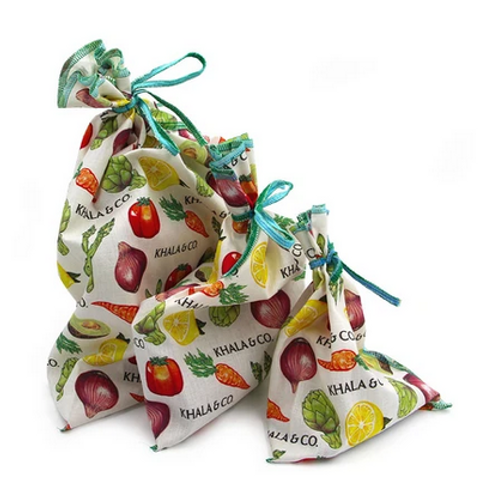 Assorted Reusable Produce Bags