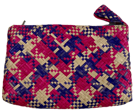 Handwoven Timorese Zip Pouch
