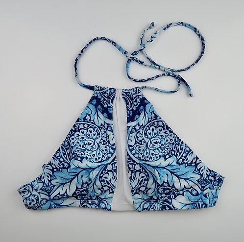 Mesh Panel Bikini Top