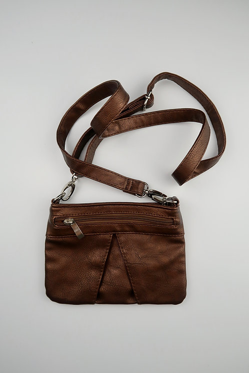 Bronze Cross-Body Bag
