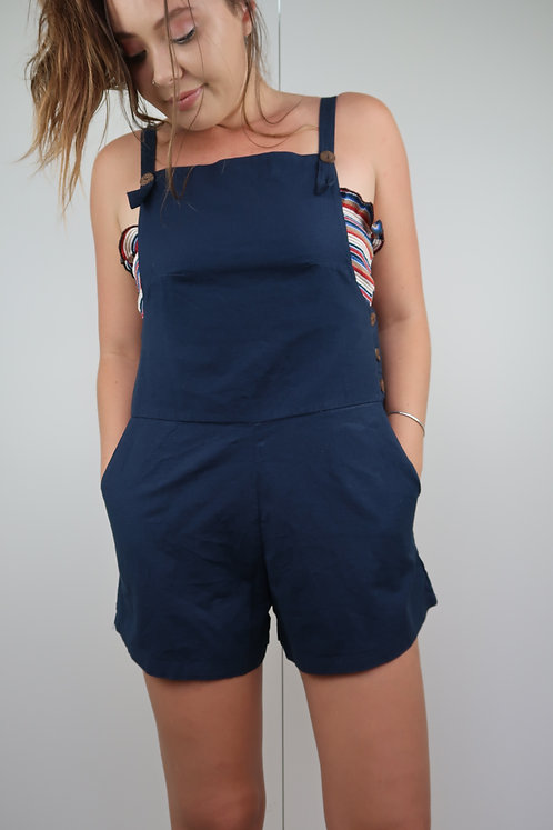 Button Up Overalls
